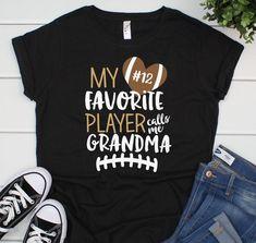 My favorite player calls me mom shirt personalized mom football shirt mom football t-shirt personalized football mom shirt personalized - Grandma Shirt - Ideas of Grandma Shirt - Team Mom Football, Football Spirit, Football Mom Shirts, Football Quotes, Alabama Football, Football Season, American Football, College Football, Basketball Shirts