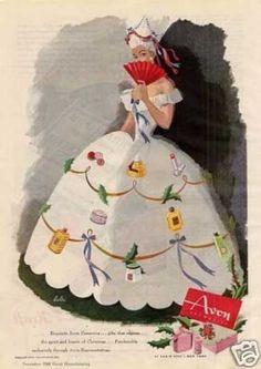 Avon Cosmetics (1944): http://www.avonrepresentative.com/anniewood