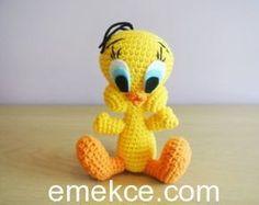 Amigurumi Oyuncak Tweety Yapılışı Amigurumi Free Crochet Patterns Ücretsiz Türkçe Amigurumi Tarifi #amgurumidolls #amigurumioyuncak #örgüoyuncak #organikoyuncak #amigurumipatterns #crochet