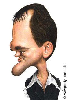 [ Quentin Tarantino  ]  - artist: Patrick Mark Bohm
