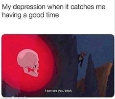 Really Funny Memes, Stupid Funny Memes, Funny Relatable Memes, Haha Funny, Mental Health Memes, My Demons, Mo S, Mood Pics, Dankest Memes