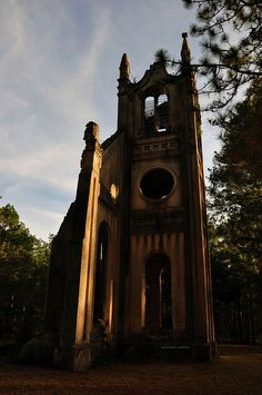 Old Gunn Church or Prince Frederick's Chapel, near Georgetown, SC