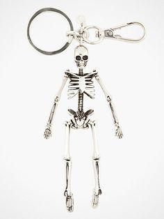 Skeleton keychain from McQueen!