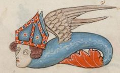 Detail from The Luttrell Psalter, British Library Add MS 42130 (medieval manuscript,1325-1340), f79r