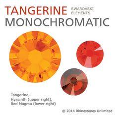 Tangerine monochromatic color theme