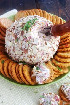 This is about as classically delicious as cheeseballs get. Everyone loves this. Everyone. The first time Joan brought one of her famous cheese balls to a work carry-in was for our extremely informal office Christmas party 3 very long years...