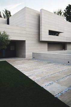 A-CERO architects  - acabamento fachada