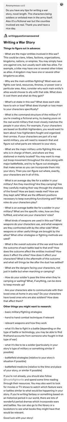 Writing a War Story - Royce Cobbald Creative Writing Prompts, Book Writing Tips, Writing Words, Writing Resources, Writing Help, Writing Skills, Writing Ideas, Writing Promts, Writing Characters