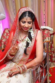 The final ensemble! Make up by Vidhi Salecha #wedmegood