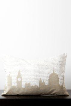 City Skyline Pillow