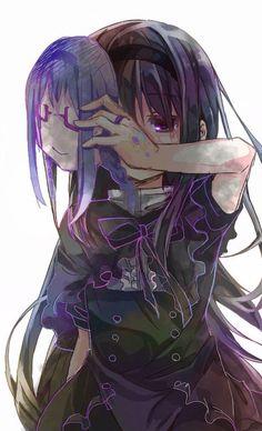 Mail - Damayanty Nuno G - Outlook M Anime, Fanarts Anime, Anime Characters, Anime Art, Madoka Magica Homura, Manga Xd, Image Manga, Sad Girl, Anime Shows