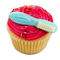 Cupcake de Vainilla con fresa