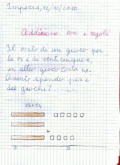 didattica matematica scuola primaria: Addizioni in colonna senza cambio - classe seconda