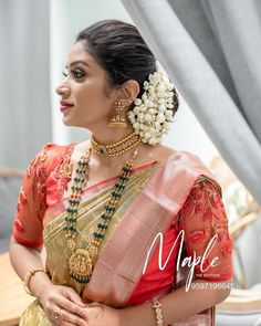 Blouse Back Neck Designs, Fancy Blouse Designs, Saree Blouse Designs, Gold Designs, Blouse Patterns, Jewelry Design Earrings, Gold Jewelry, Pearl Jewelry, India Jewelry