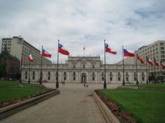 La Moneda: Presidential Palace in Santiago, Chile