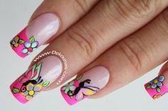 Decoración de uñas mariposas2-2