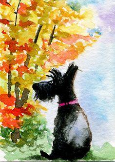 Bonnie The Scottie Dog by archyscottie
