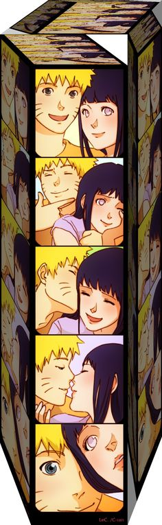So. Cute.  Naruto and Hinata