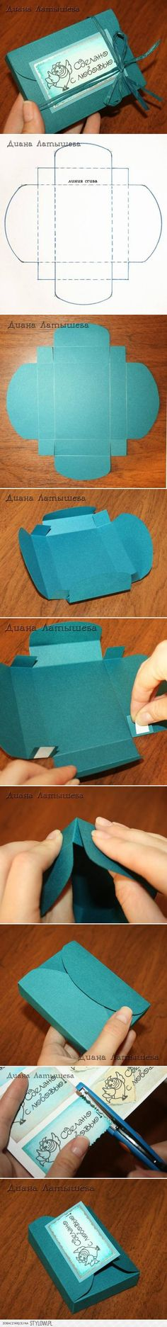 DIY Fancy Gift Box DIY Projects | UsefulDIY.com na Stylowi.pl