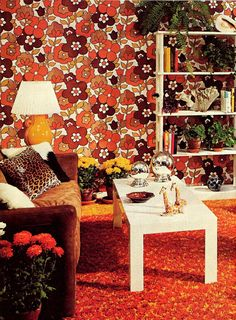 1001 Decorating Ideas 1971 - the year of my birth and all our neighborhood had this look