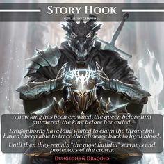 """""""How many more rulers will suffer until the Dragonborns obtain their ultimate goal? Post inspiration came from my conversation…"""" Dungeons And Dragons Homebrew, Dungeons And Dragons Characters, D&d Dungeons And Dragons, Dnd Characters, Dnd Dragons, Fantasy Character Design, Character Ideas, Dnd Stories, Dnd Classes"""