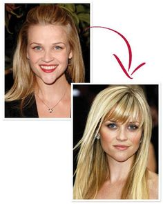 Reese Witherspoon's Long Bangs