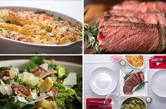 Aprenda a fazer este delicioso jantar a dois: | Um jantar completo para fazer a dois