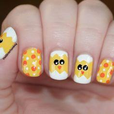 girlietomboynails easter #nail #nails #nailart