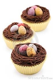 nest cupcakes! (huge hit at Easter dinner)