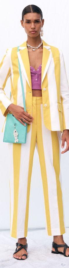 Fashion 2020, Fashion Brands, Stripes Fashion, Derek Lam, Fashion Labels, Spring Fashion, Salsa, Fashion Accessories, Couture