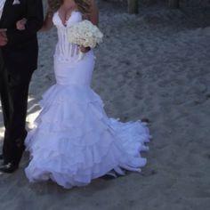 Marina K Custom Made Wedding Dress