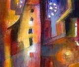 Fire evening, 1929 - Paul Klee - WikiArt.org