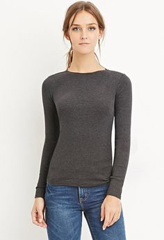 Classic Cotton Tee | Forever 21 - 2000156638