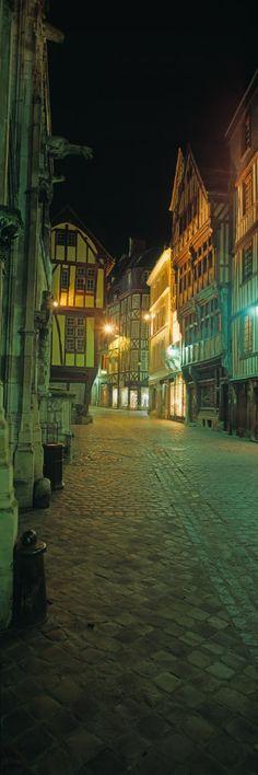 Maisons à colombages,  rue Saint-Romain,  Rouen Haute Normandie