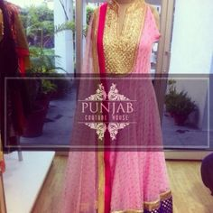 Pink and Gold.    Email us to get more info @ punjabcouturehouse@gmail.com
