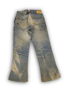 Levi Strauss & Co Spring Bottom Pants, c.1890's