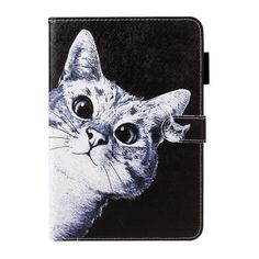 Cat Rose Sand Case For Samsung Galaxy Tab A 10.1 T510 T515 Tablet Flip Cover PU Silicone Stand Case For Samsung Tab A 10.1 2019 Samsung Tabs, Samsung Galaxy, Flipping, Batman, Cats, Cover, Gatos, Cat, Kitty