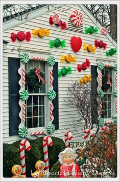Candy Cottage. So cool!