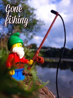 Hyperbolego – Lego Inspired Original Photography Gone Fishing