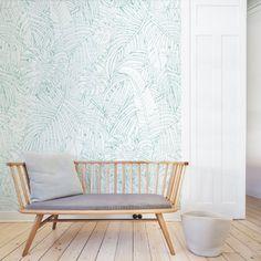 Papier peint tropical Jungle Island, Au fil des couleurs