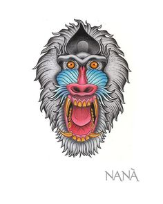 #baboon #baboontattoo #monkey #monkeytattoo #wildanimals #primate #wildtattoo #savagetattoo #angrymonkey #angry #newtattoo #neotradtattoo #neotraditional #neotraditionaltattoo #neotraditionaltattoos #neotrad #tattoolife #tatts #inkstagram #inkage #darkartists #tattooartist #inkpassion #animallovers #animaltattoo #madness #madtattoo
