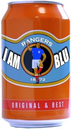 I love the Glasgow Rangers and I love Irn Bru two great Scottish icons. Scotland Forever in my Heart. Rangers Football, Rangers Fc, Badges, Steel Girder, English Legends, Still Game, Funny Vintage Ads, Orange Order