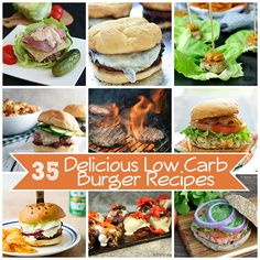 Best Low Carb Burger Recipes | All Day I Dream About Food