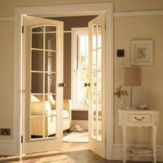 Interior Glass Doors give your home an elegant upgrade with interior french doors