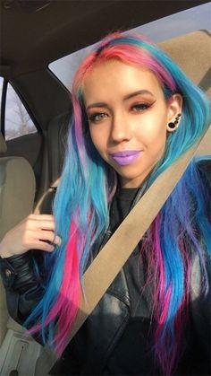 Directions Hair Dye, Black Girls Hairstyles, Dyed Hair, Dreadlocks, Hair Styles, Beauty, Hair Plait Styles, Hair Makeup, Hairdos