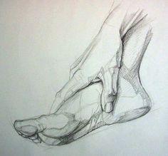 Feet Drawing, Human Drawing, Life Drawing, Cool Art Drawings, Pencil Art Drawings, Art Drawings Sketches, Figure Sketching, Figure Drawing, Human Anatomy Art