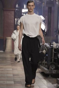 Lanvin Menswear Spring Summer 2014 Paris