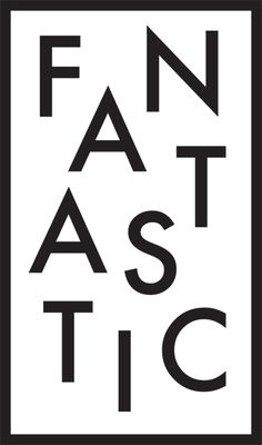 Fantastic - black and white typography Typography Letters, Graphic Design Typography, Hand Lettering, The Words, Words Quotes, Life Quotes, Sayings, Typographie Logo, Motivational Quotes