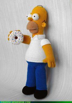 Mmmmmmm...crochet doughnut...