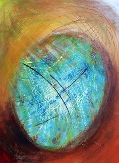 The web of life  Abstract art